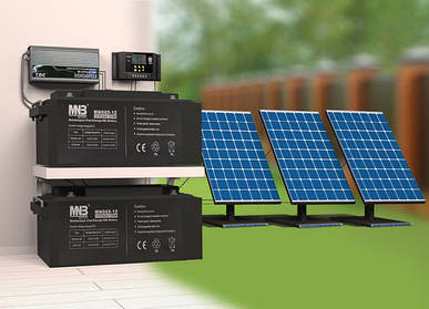 Вибір акумуляторної батареї для сонячної електростанції