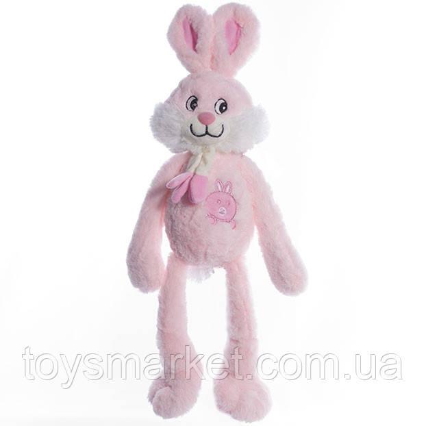 Детская мягкая игрушка,зайчик Ирен,розовый