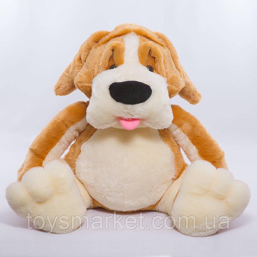 Детская мягкая игрушка,пес Варфоломей