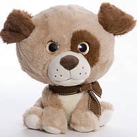 Детская мягкая игрушка,песик Лунита,коричневый