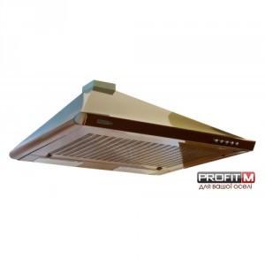 Вытяжка кухонная Profit-м Фортуна Турбо Ф-1 60 коричневая