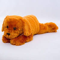 Детская мягкая игрушка,собака Лорд,коричневая