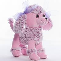 Детская мягкая игрушка,пудель Адель,фиолетовая