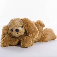 Детская мягкая игрушка,Собачка Кузя,коричневая