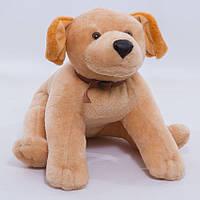 Детская мягкая игрушка,пес Лабрадор,коричневый