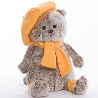 Детская мягкая игрушка,кот,коричневый