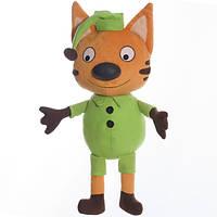 Детская мягкая игрушка,кот Кен,оранжевый