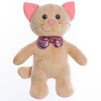 Детская мягкая игрушка,кот Мупси,бежевый