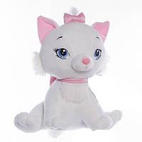 Детская мягкая игрушка,котик Принцесса,белая