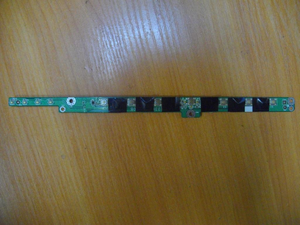Плата с кнопкой включения MSI L735 L715