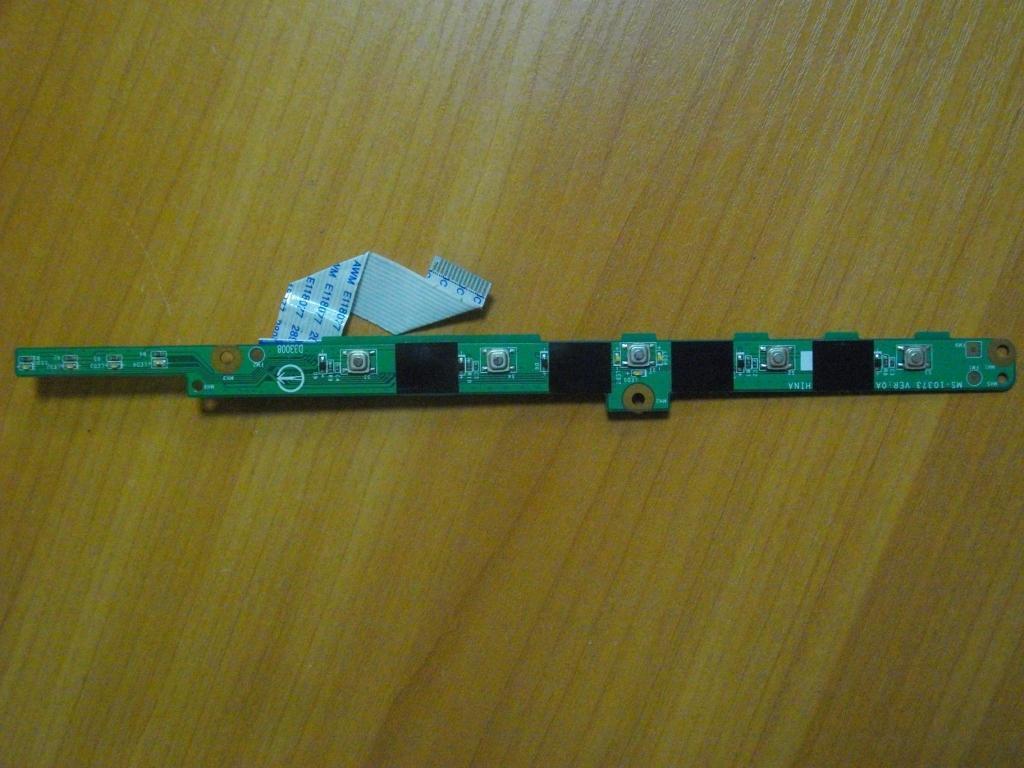 Плата с кнопкой включения MSI L745