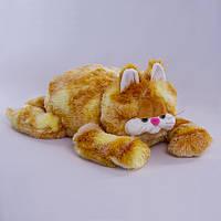 Детская мягкая игрушка,кот Гарфилд,коричневый