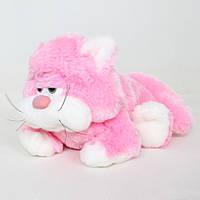 Детская мягкая игрушка,котик Мурчик,розовый