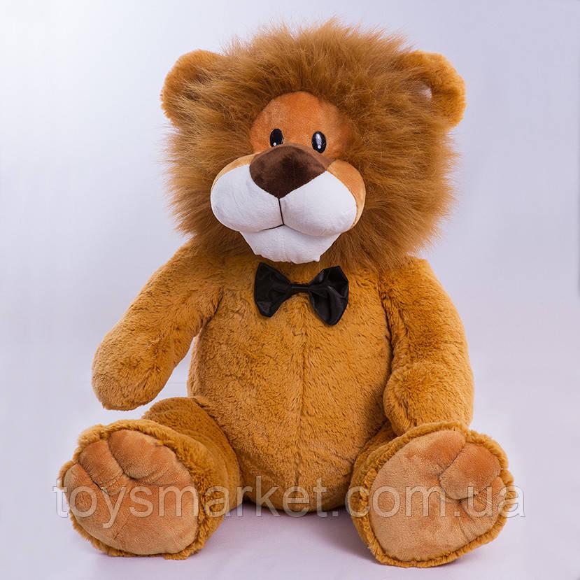 Детская игрушка,лев Праздничный,коричневый