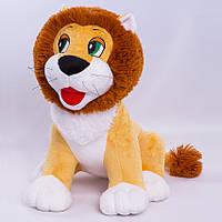 Детская мягкая игрушка,лев Лёва,коричневый