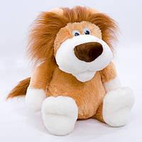 Детская мягкая игрушка,лев Сафари,коричневый