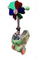 Детский трехколесный Самокат-Беговел 3 в 1 BAVAR SPORT