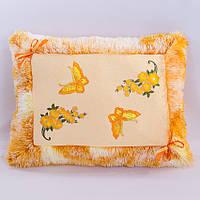 Детская подушка,подушка Открытка,оранжевая