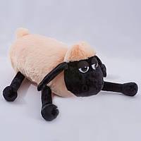 Детская подушка,овечка,розовая
