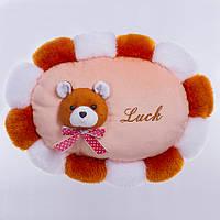 Детская подушка, Медведь,Luck