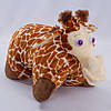 Детская подушка,подушка Жираф,коричневый