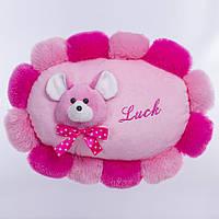 Детская подушка,Мышка Luck