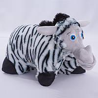Детская подушка,подушка Зебра