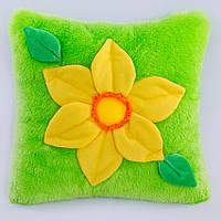 Детская подушка, цветочек,Нарцисс