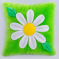 Детская подушка, цветочек,Ромашка