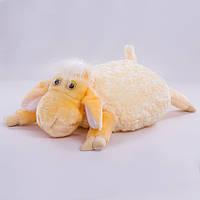 Детская подушка,овечка,белая
