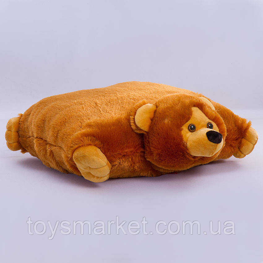 Подушка-складушка Медведь