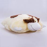 Детская подушка-складушка,Коровка