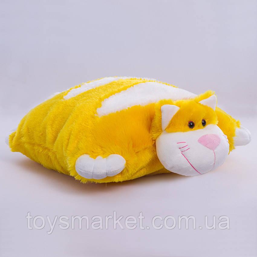 Детская подушка-складушка, Котик