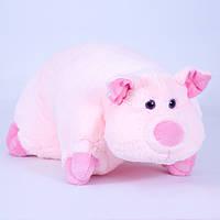 Детская подушка-складушка, Свинка