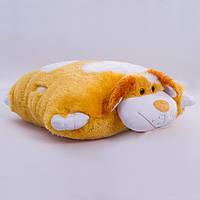 Детская подушка-складушка, Собачка