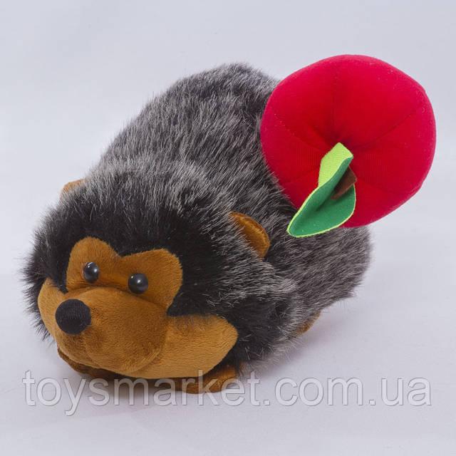 Детская мягкая игрушка Ёжик с яблочком
