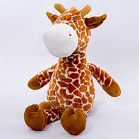 Детская мягкая игрушка,жираф Сафари,коричневый