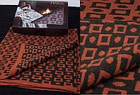 Шерстяной одинарный теплый плед украинского производства в подарочной упаковке. Цвета в ассортименте
