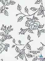 Рулонные шторы Китайская роза черная