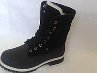 Timberland ботинки зимние