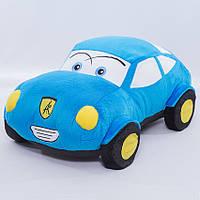 Детская мягкая игрушка,машина,голубая