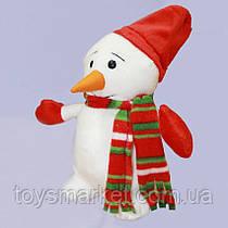 Детская мягкая игрушка,Снеговичёк