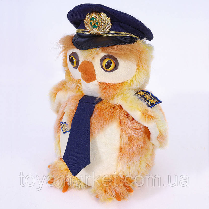 Мягкая игрушка сова Филин, сувенир