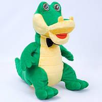 Детская мягкая игрушка,крокодил Гена,с бабочкой