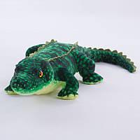 Детская мягкая игрушка,аллигатор,зеленый