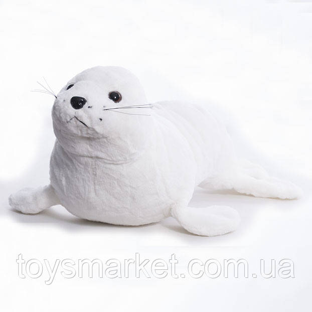 Детская мягкая игрушка,морской Лев,белый