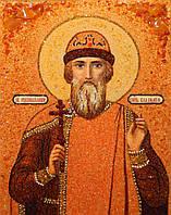 Икона из янтаря Святого князя Владимира