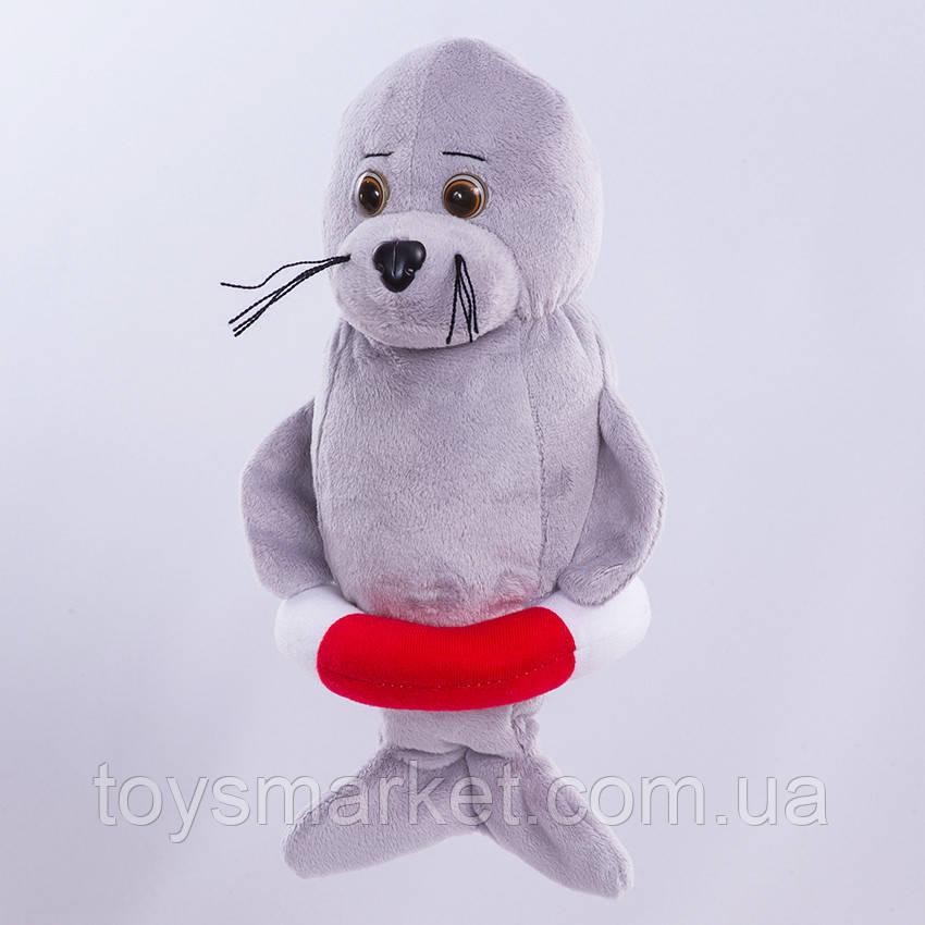 Мягкая игрушка тюлень Спасатель