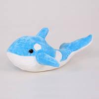 Детская мягкая игрушка,рыбка,голубая
