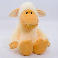 Детская мягкая игрушка,овечка Зося,бежевая